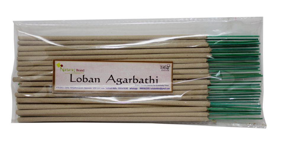 250 Grams Nataraj Brand Special Traditional Loban/Sambrani Agarbathi  Incense Sticks for Puja