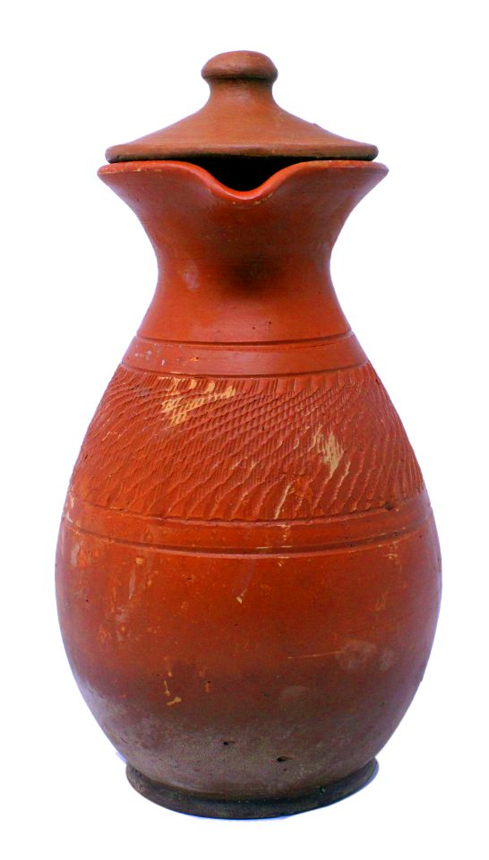 1 5 litre Cooling Handcrafted Earthy Terracotta Water Jug with Lid